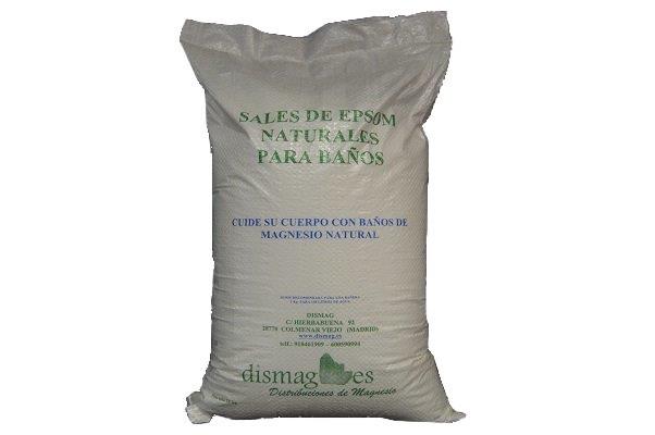 Sales de Epsom / Magnesio de baños 10 kg